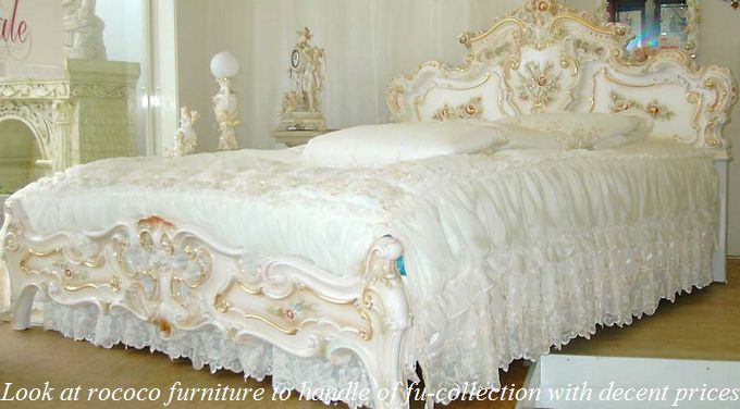 プリンセスロココ調家具